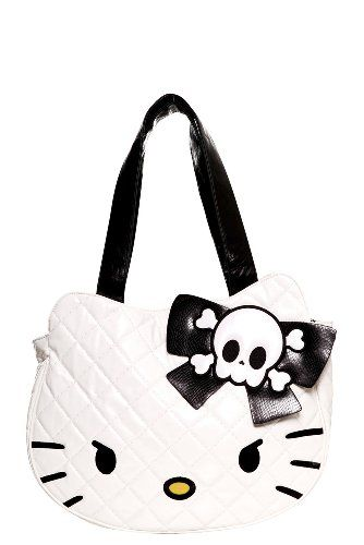 0838d04d7 Loungefly - Hello Kitty Skull Bow Tote Bag | My Wish List | Hello ...