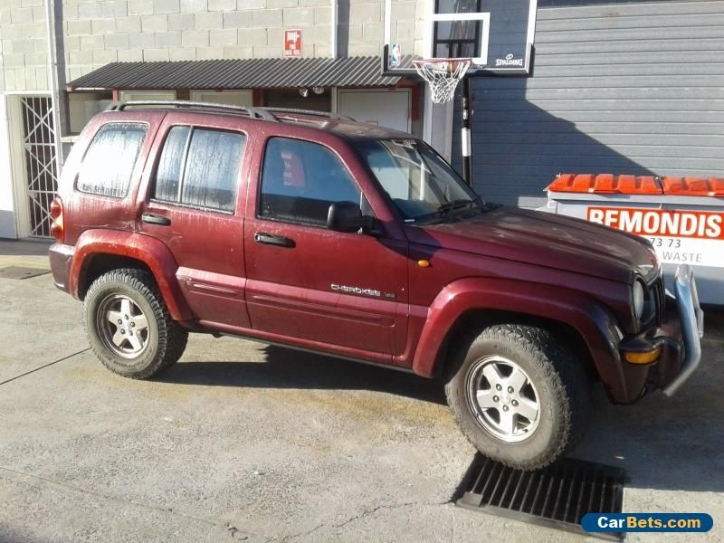 Car For Sale Jeep Cherokee Kj Limited Leather V6 Auto Drives Good