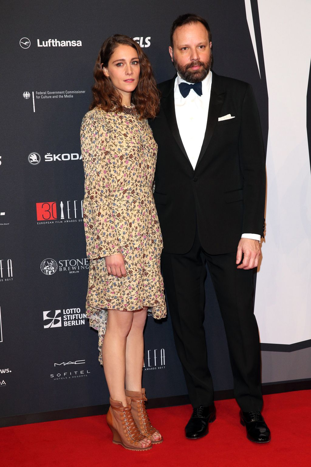 Actress Ariane Labed attended the 30th European Film Awards