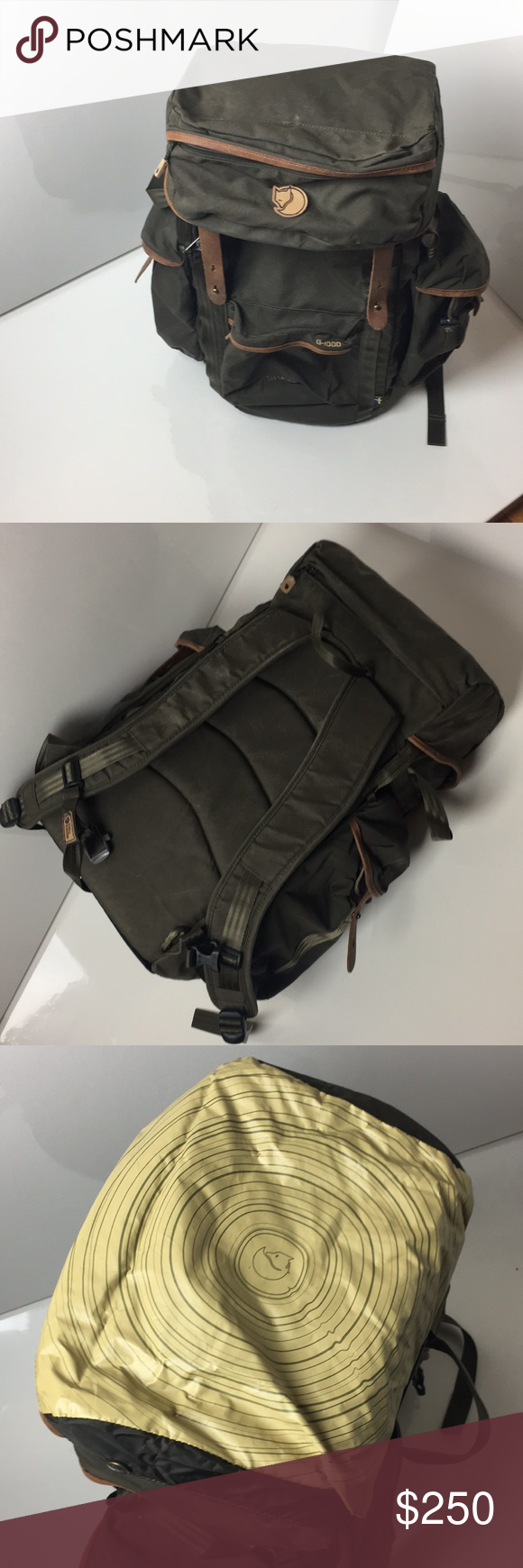 8cec71595ae95 Fjallraven Stubben Backpack w  Side Pouches Built-in frame comfortable to  carry and to sit on. Holds a large packed lunch and reinforcement garments  and is ...