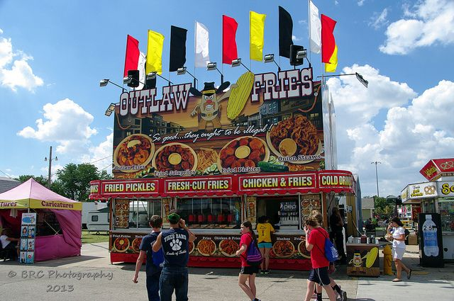 Outlaw Fries ~ Kansas State Fair Grounds | Dover ( Includes 5 State on