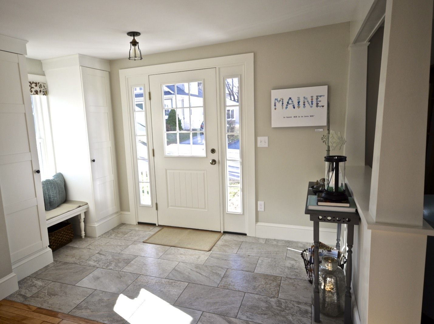 SoPo Cottage: Dining Room And Foyer: Before And After