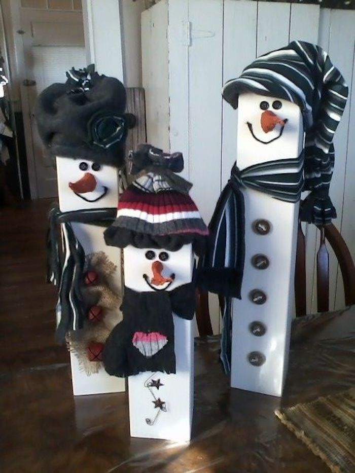 Make snowman – easy instructions and beautiful pictures