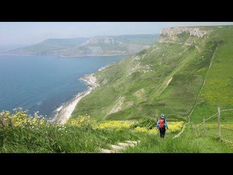 St Alban's Head, Jurassic Coast Walk, Dorset Walks, England, UK