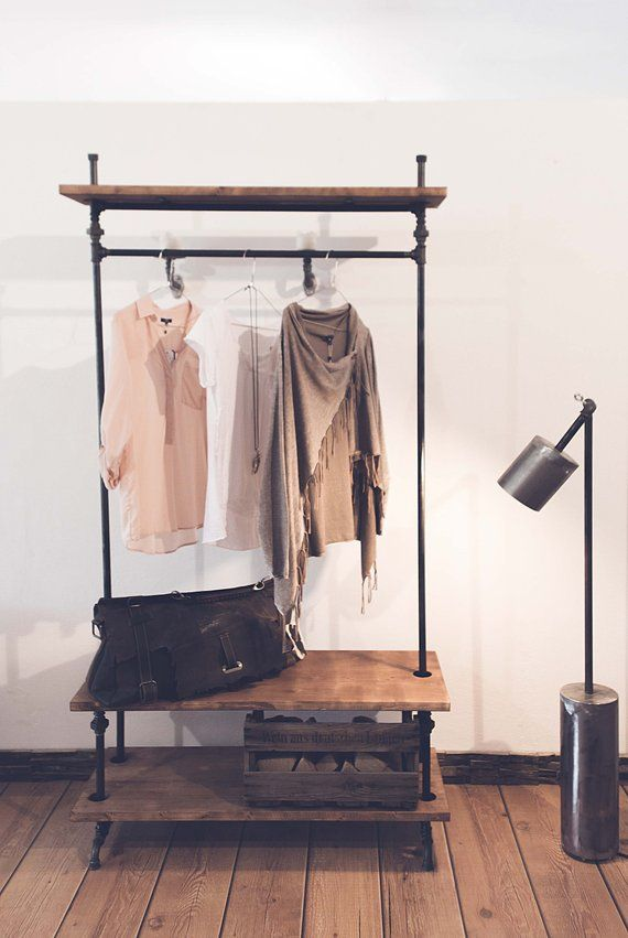 Wardrobe, coat rack, industrial design