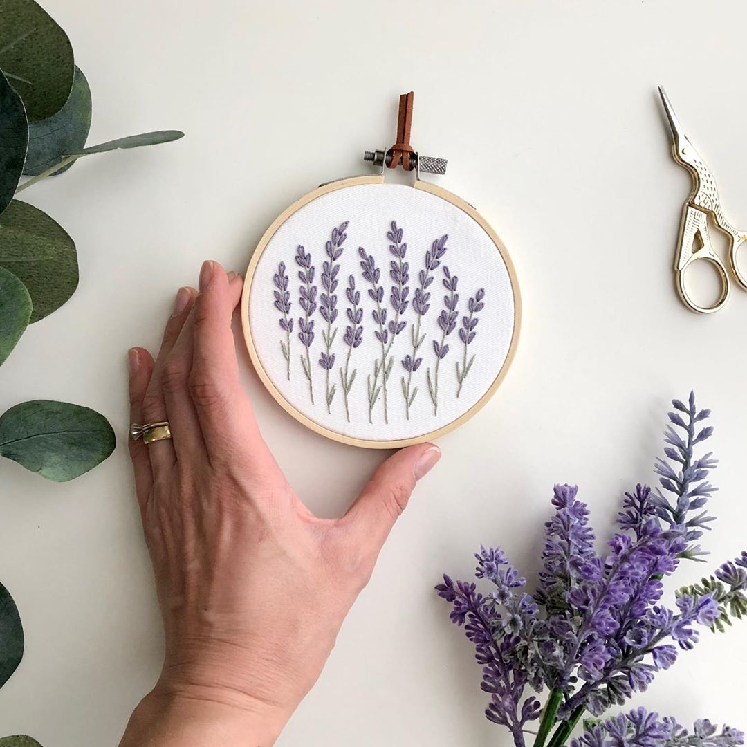 Pin On Embroidery Hoop Art