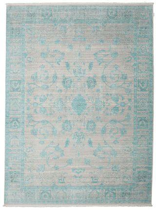 Maharani Szary Niebieski Dekoracje Dywany Niebieski