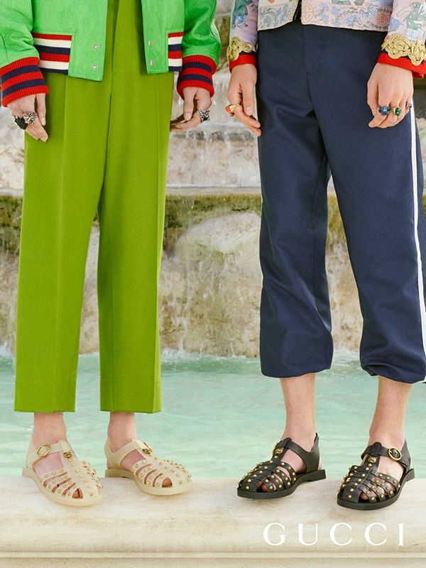 Gucci, Rubber sandals