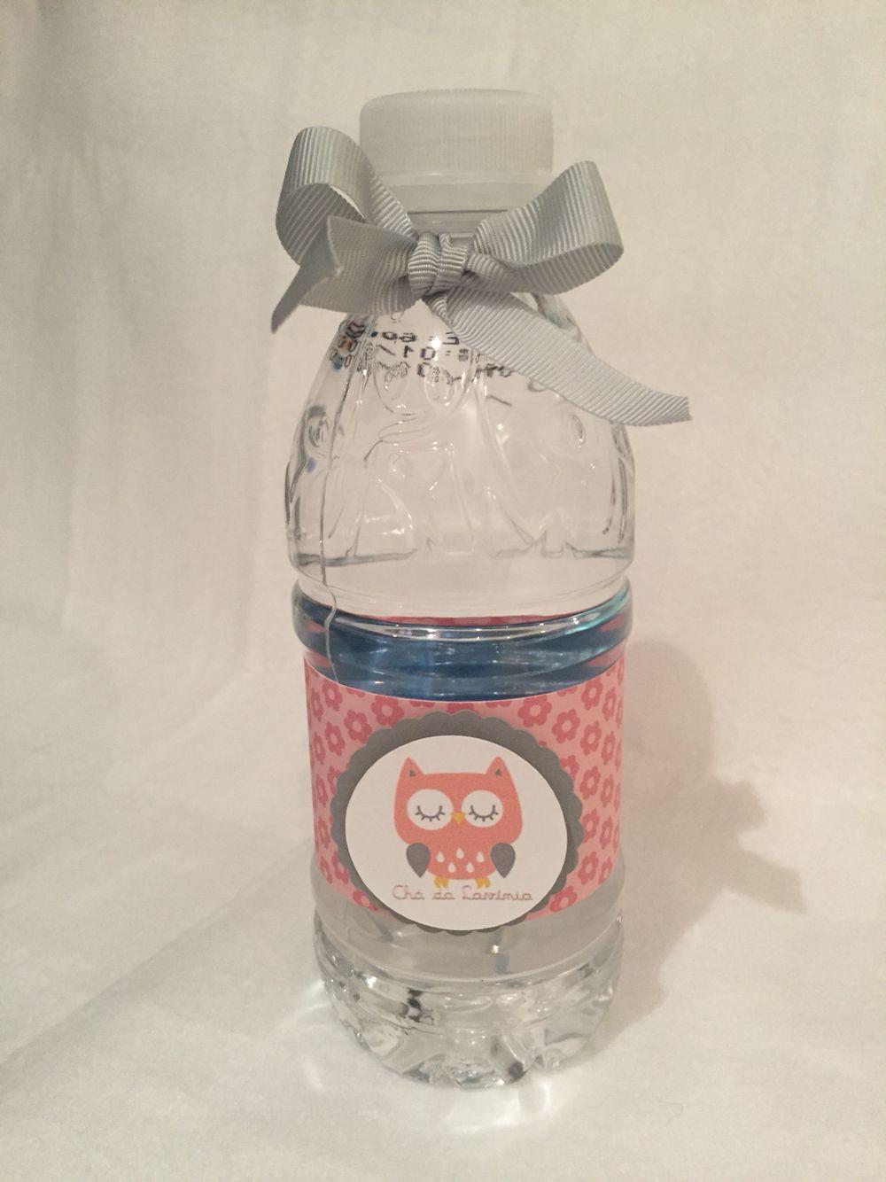 Garrafa de água para Chá de bebê por ARTEIRICES DA LILI