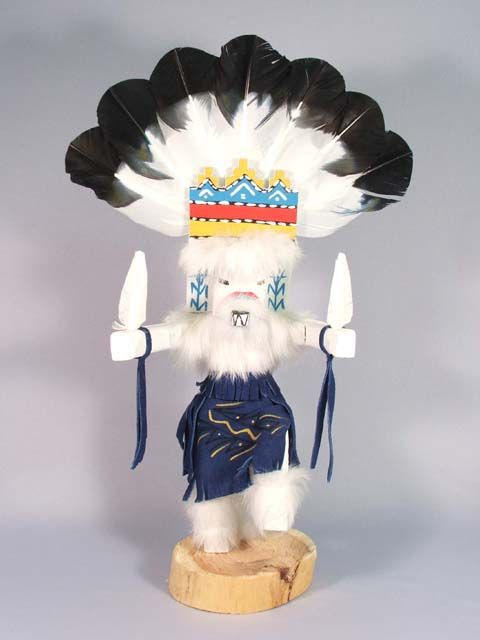 Santa Donmingo Kachina Blesses The Seed For A Good Harvest Art