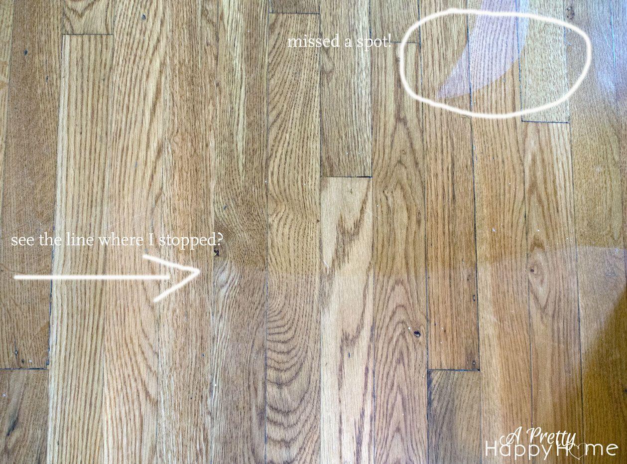 Shine Your Dull Wood Floors Without Refinishing Using