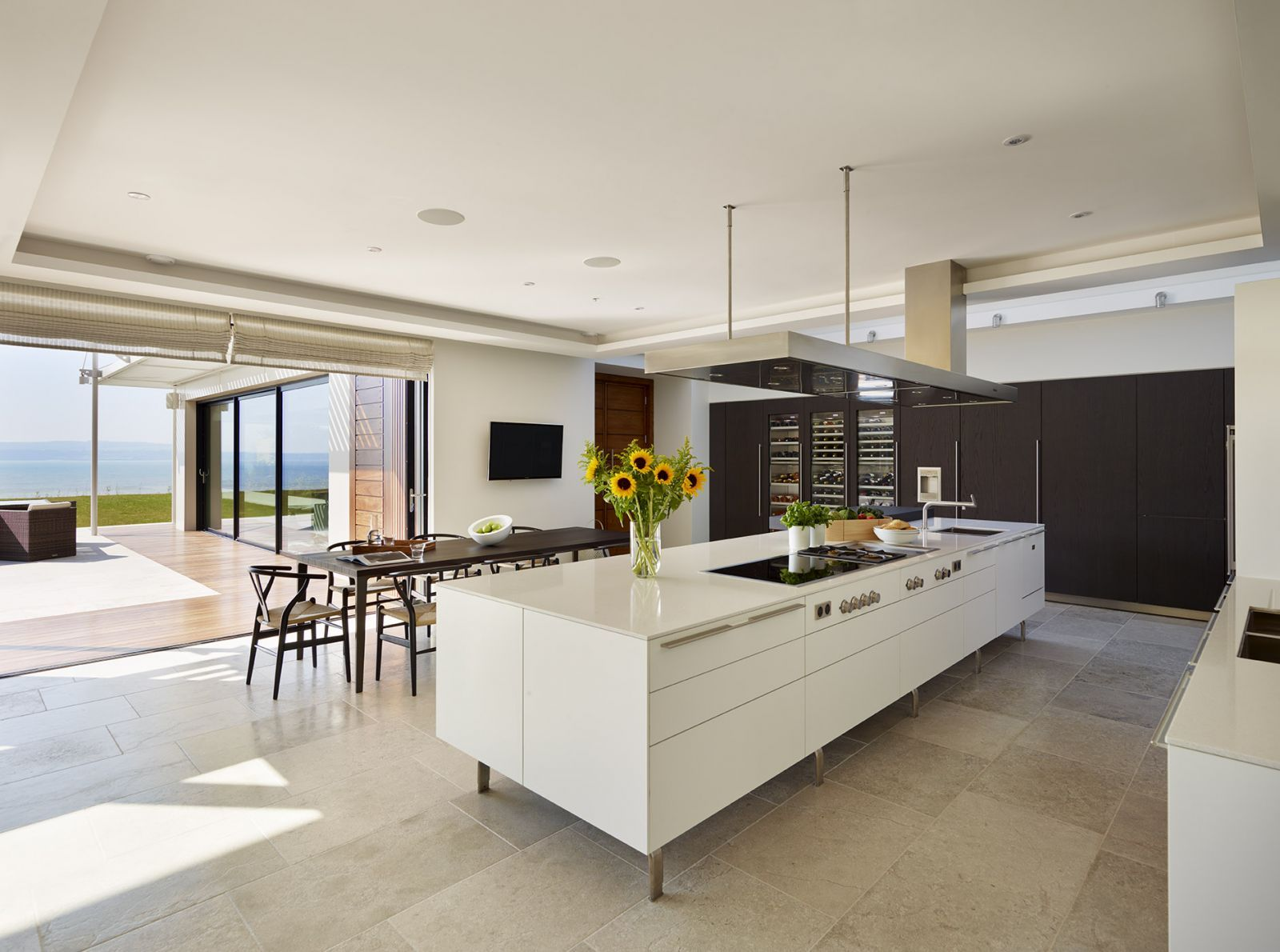 Bulthaup Kitchen Island Part - 18: The Bulthaup Kitchen Designed By Sapphire Living Space Works Perfectly In  This Coastal Devon Home.