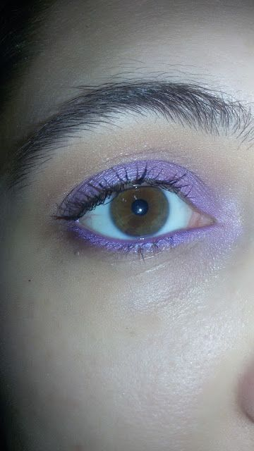 CHIKI88...  my passion for nails!: Thursday make up: Lilac Wonder!