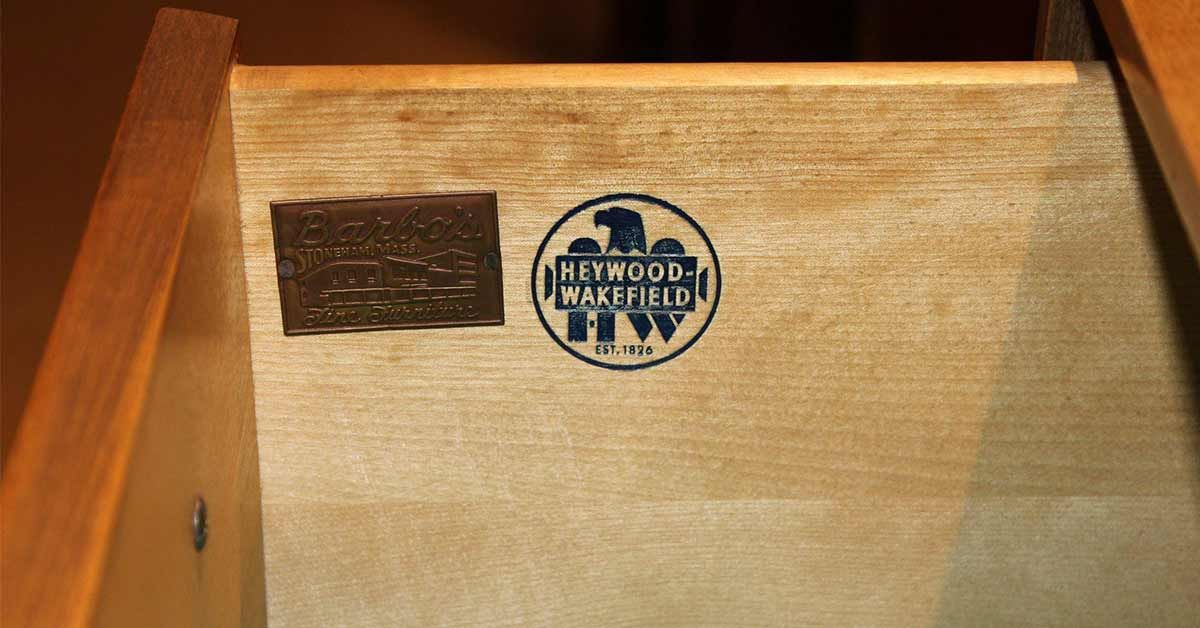 Clues For Identifying Vintage Heywood Wakefield Furniture Heywood Wakefield Furniture Wakefield Furniture Heywood Wakefield