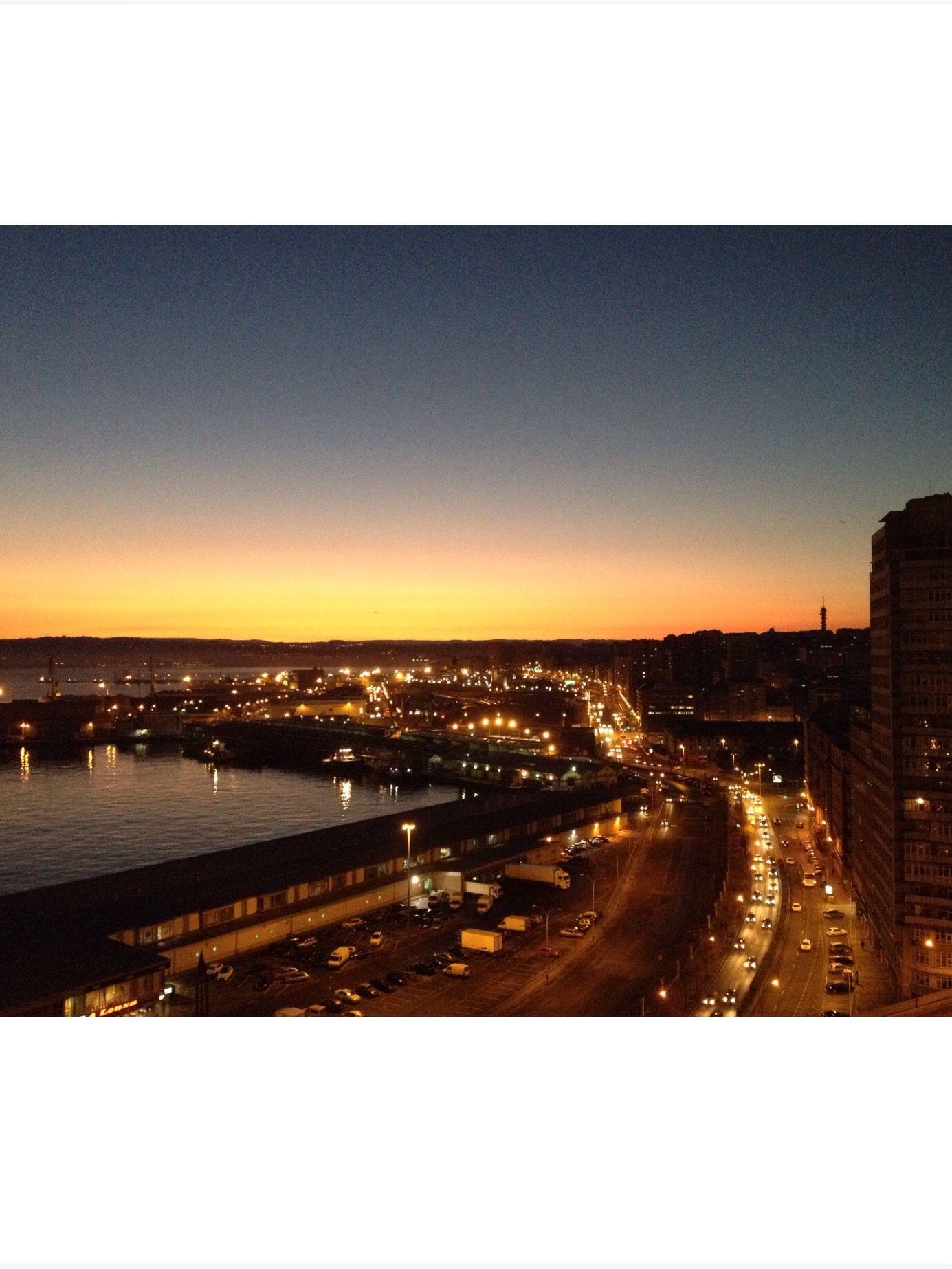 La Coruña Desde mi balcón