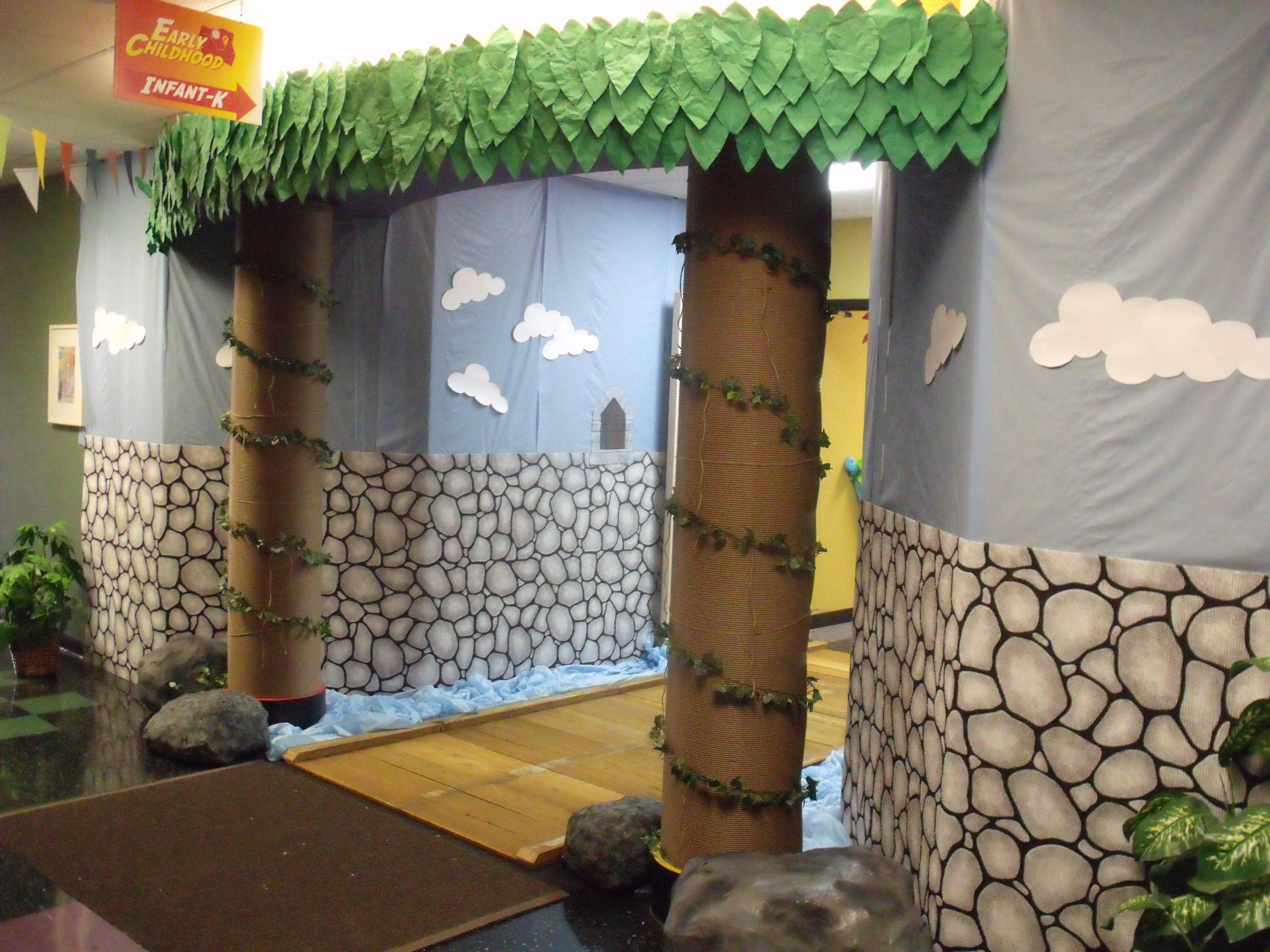 Preschool Entrance Childcare Rooms Lobby Design Decor