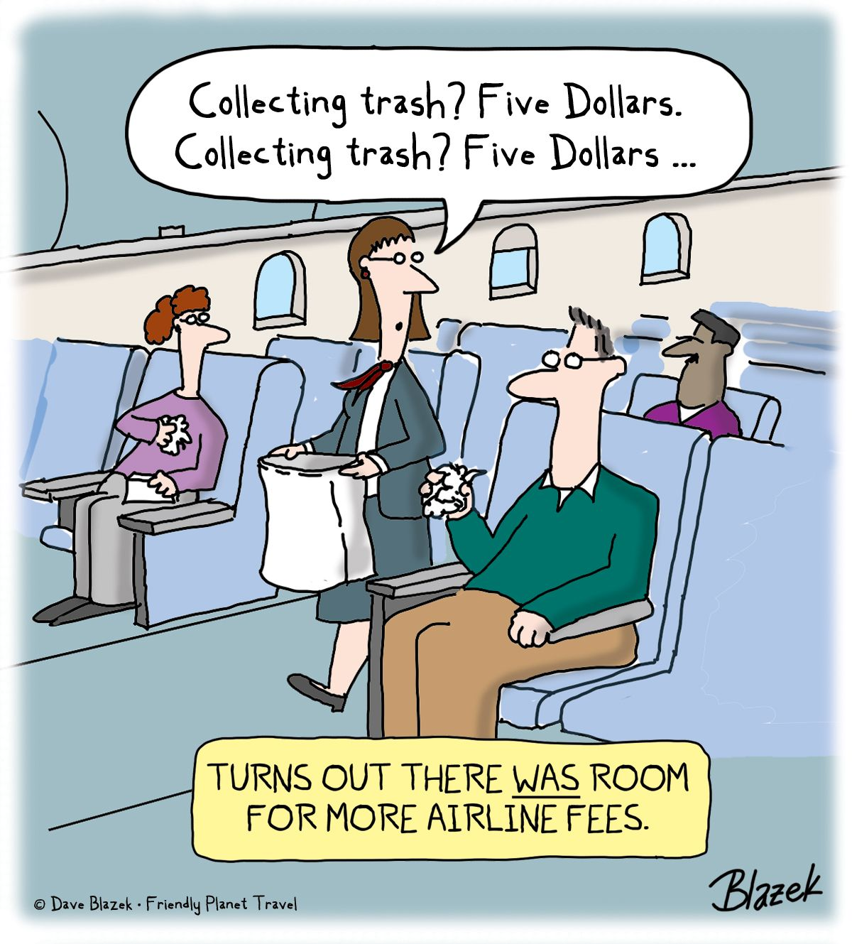Turns Out There Was Room For More Airline Fees