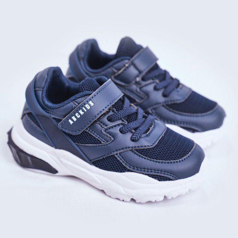 Sportowe Buty Dzieciece Granatowe Abckids B933204077 Shoes Sneakers Fashion