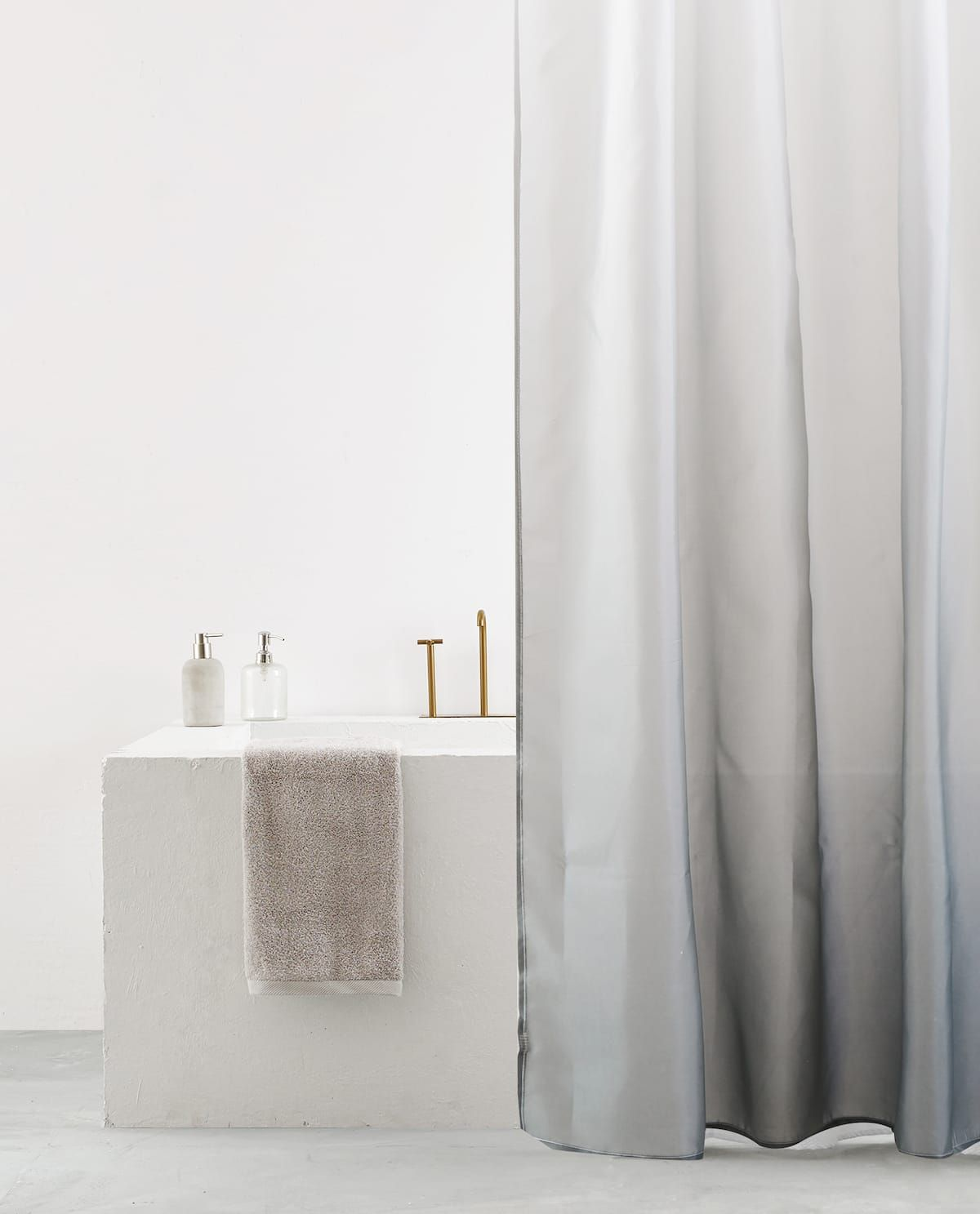 Ombre Effect Shower Curtain Cool Shower Curtains Target Shower