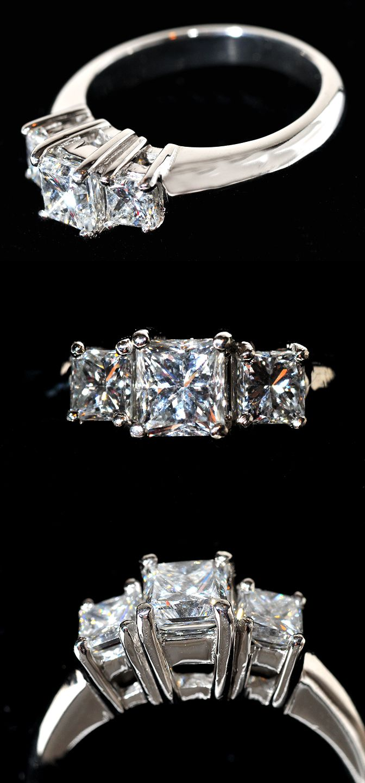 Pin on Princess Cut Engagement Rings we Love!