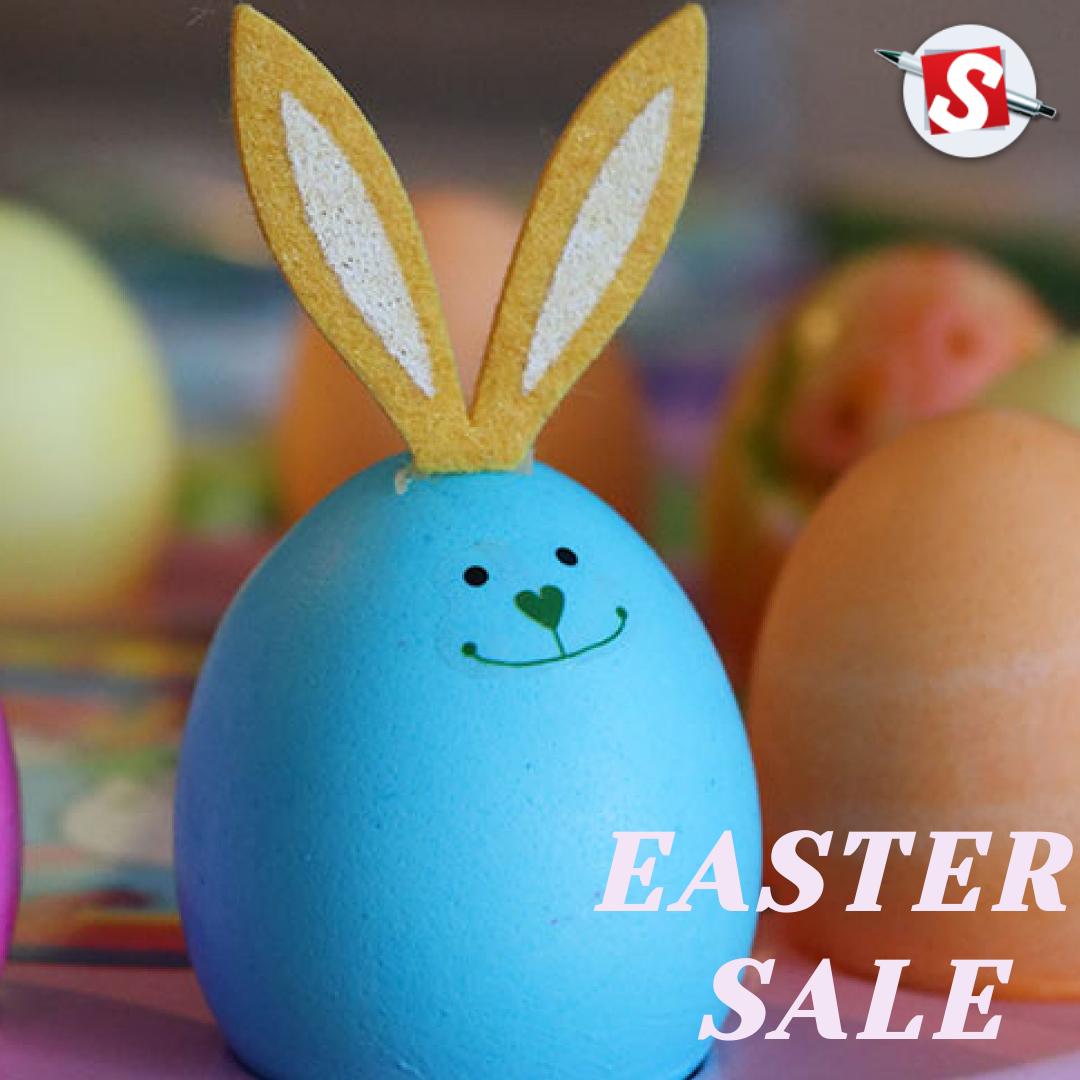 Easter Sale in 2020 Easter sale, Indian blue, Custom paper