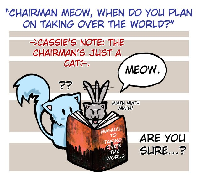 Drawn by Felwyn ...  chairman meow, church, the mortal instruments