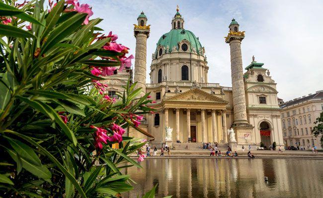Am Karlsplatz findet wieder das Buskers Festival statt.