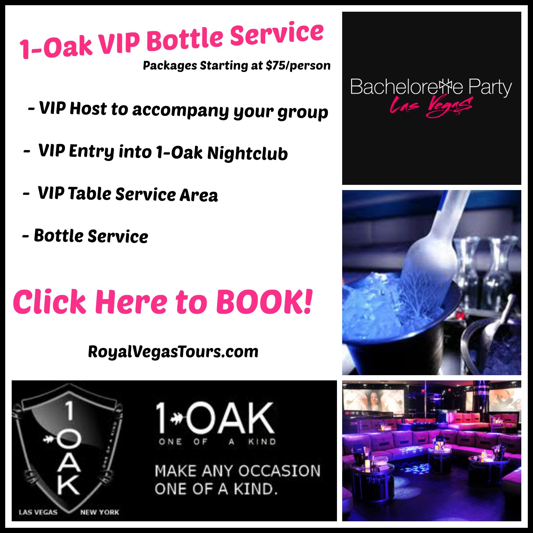 1 Oak Nightclub Bottle Service Vegas Nightlife Bottle Service Vegas Bachelorette Party Night Club