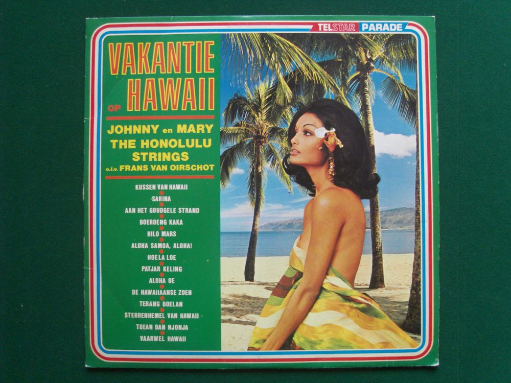 12  Lp VAKANTIE HAWAII Honolulu - Sexy Nude Cheesecake Cover *WW SHIPPING* VG