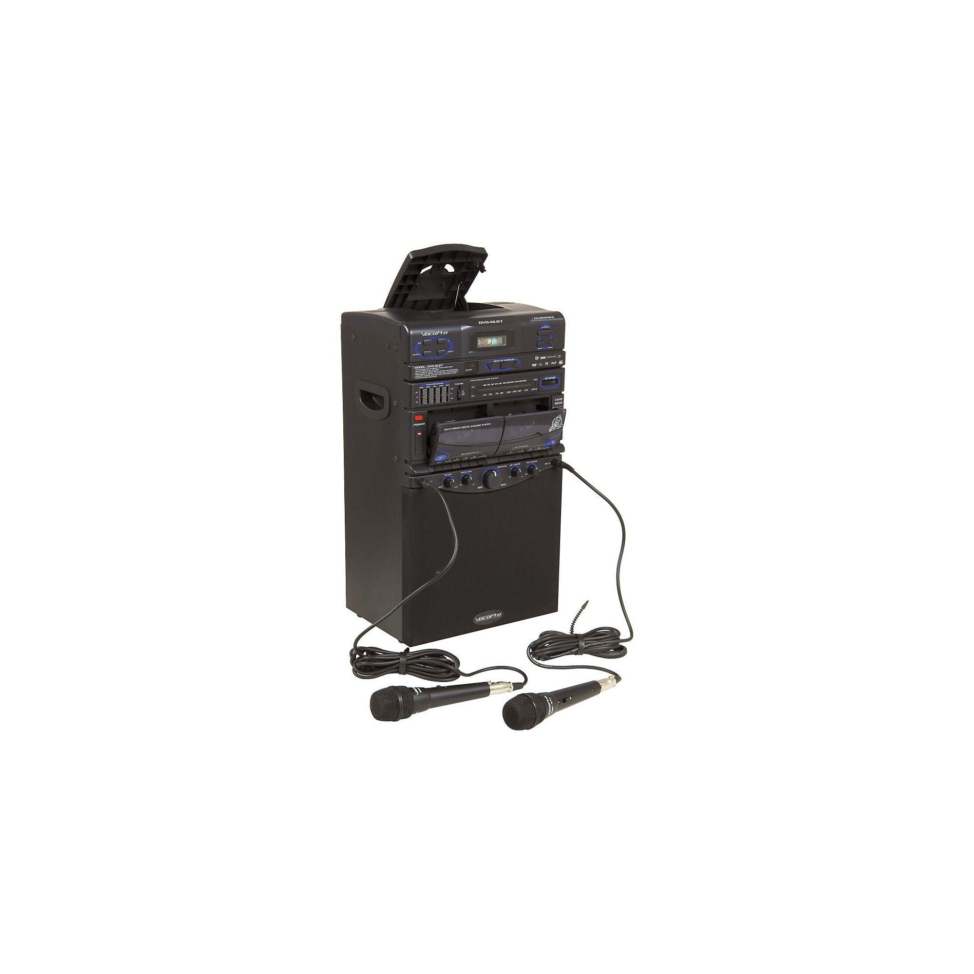 VocoPro DVD Duet Karaoke System | Karaoke system, Karaoke ...