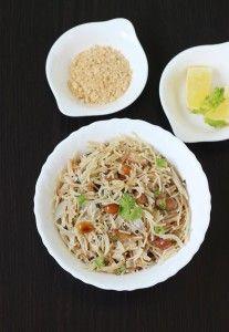 semiya upma recipe | vermicelli upma recipe | breakfast recipes