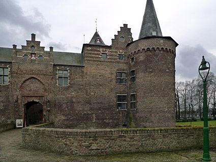 This beautiful castle is in the downtown area of Helmond, Netherlands. We were so thrilled to have the opportunity to explore it!