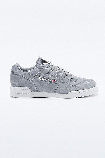 Reebok Workout Plus Cordura Trainers in Grey #sneakers #reebok #workout #offduty #covetme
