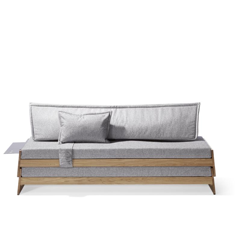 Die idee so einfach wie genial ein sofa als bett oder for Doppelbett platzsparend