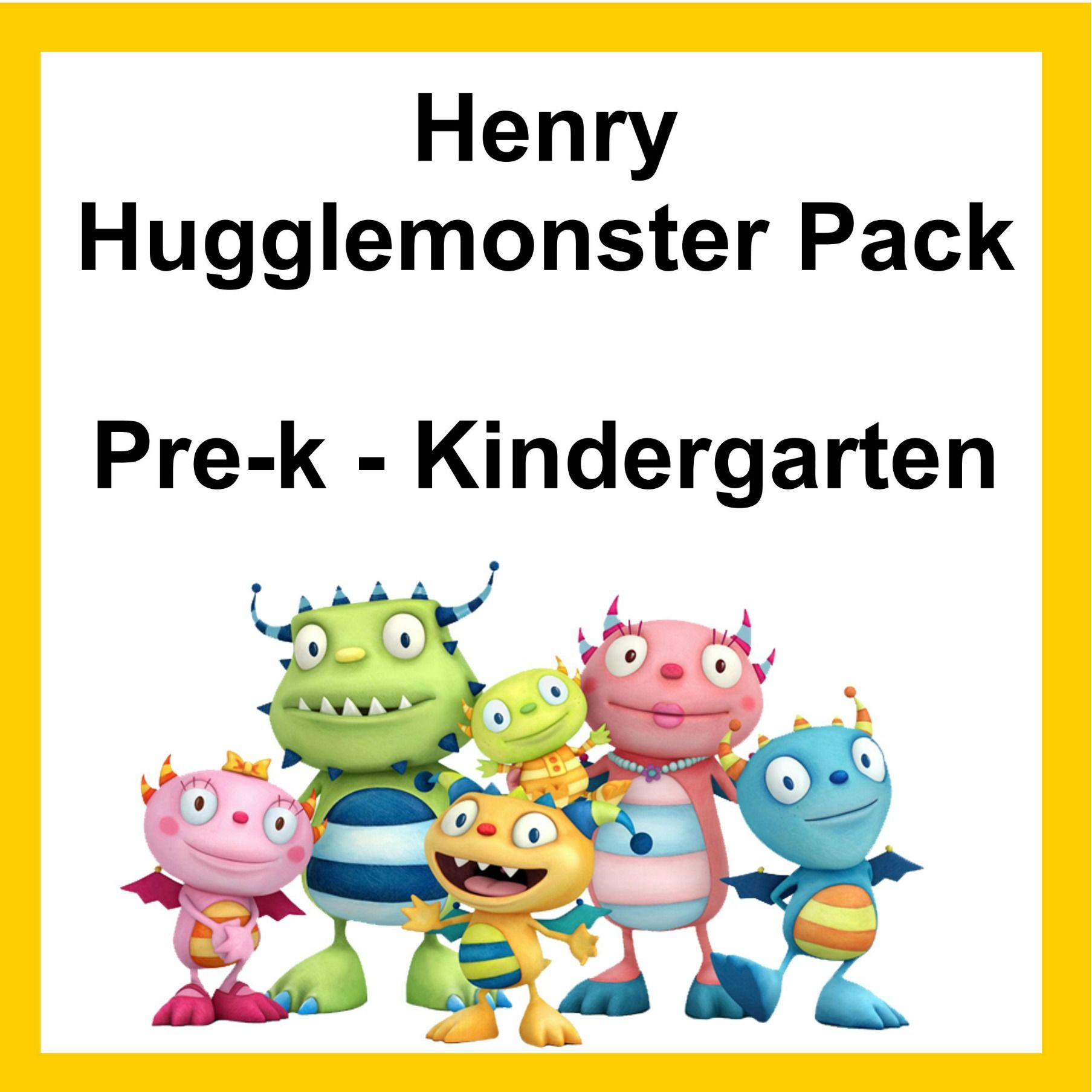 Free Lesson Pack Download Henry Hugglemonster Lesson Pack