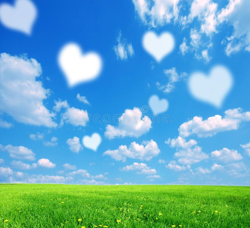 Love Nature Background With White Symbolic Hearts On Sky Ad Background Nature Love White Sk Nature Backgrounds Spring Landscape Photo Backgrounds