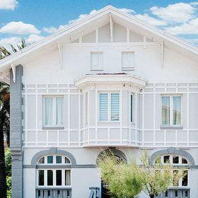Hotel Alamar Surf House: Fachada del hotel
