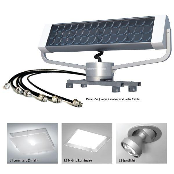 Solar Lighting System Parans Tech Fiber Optic