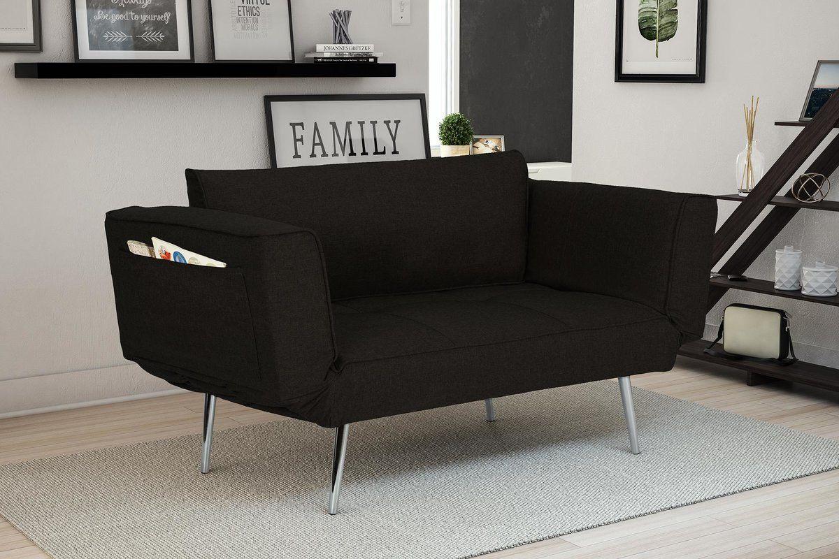 Euro convertible sofa
