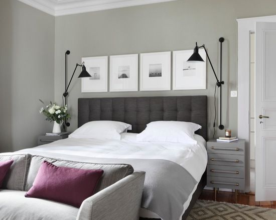 Nine top interior designers share their favorite gray paint colors to use in bedrooms living rooms kitchens and more