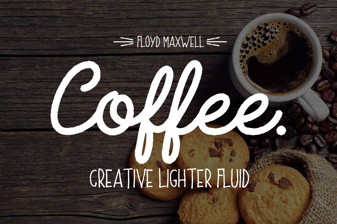 Download Coffee Font + Extras | Coffee fonts, Font packs, New fonts