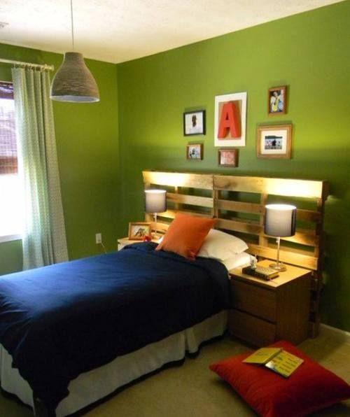 cabeceira-da-cama-palletjpg (500×596) Photos Pinterest Mesas - camas con tarimas