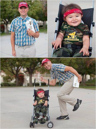 this 2 year old has a lifetimes worth of perfect halloween costumes