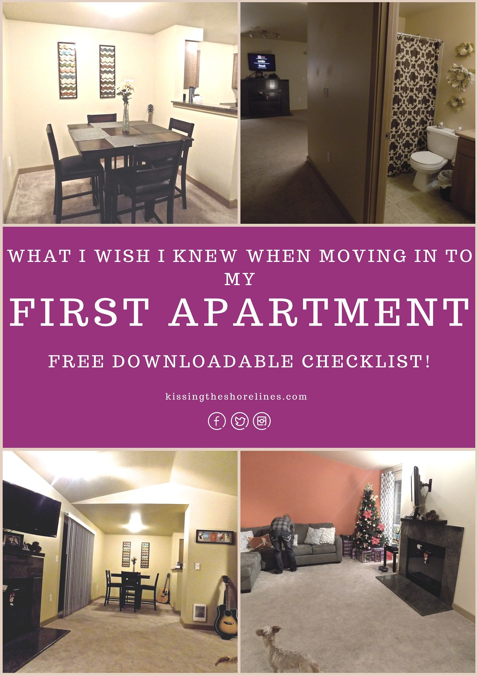 First Apartment Our First Apartment Pinterest