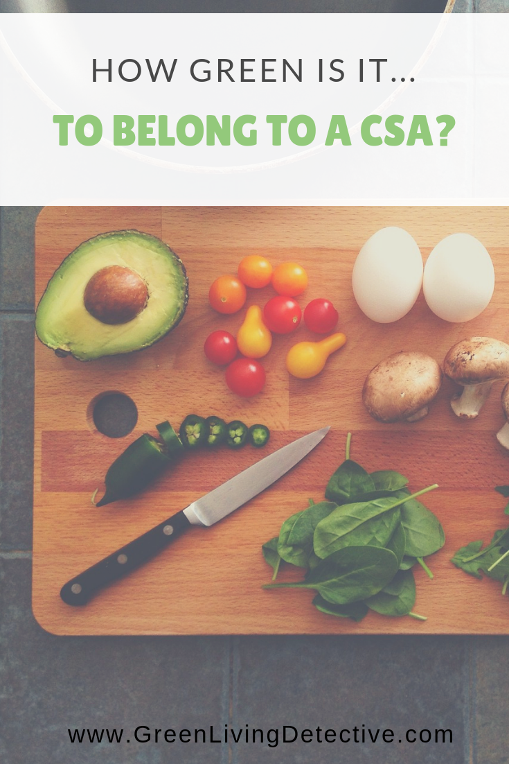 How Green Is It    To Belong To a CSA | Zero Waste | Organic