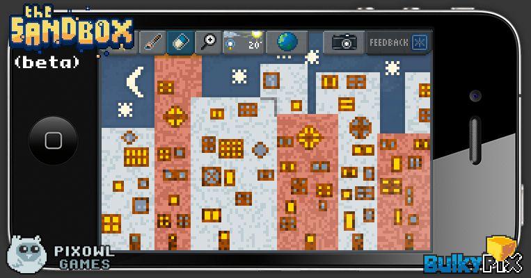 Night City #pixelart #sandbox #pixel #art #ios #iphone | The