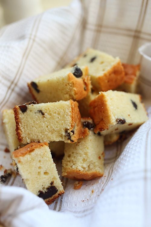 Brandy Butter Cake with Prunes – Rich, moist, sweet, and super buttery butter cake with splashes of brandy plus dried prunes. You just have to make this.   rasamalaysia.com