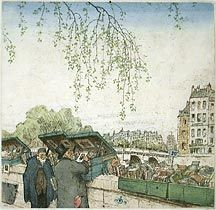 Second Hand Booksellers, Spring--1912            T. F. Simon
