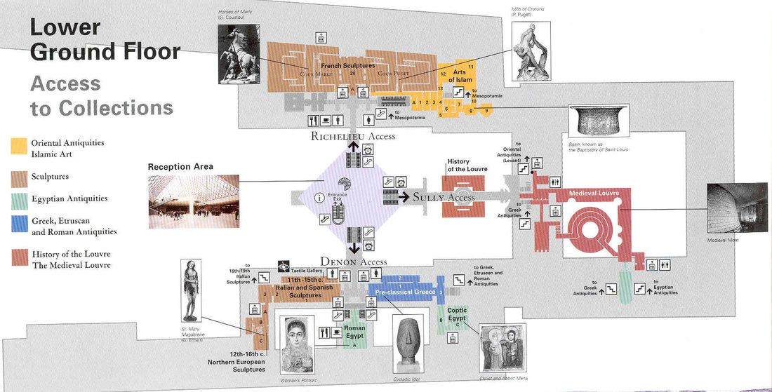 louvre floor plan - Google Search | Renaissance Architecture: The ...