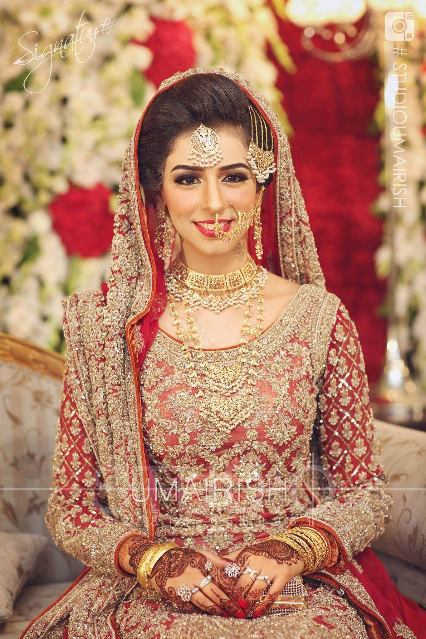 Park Art|My WordPress Blog_Dark Red Wedding Dress Pakistani
